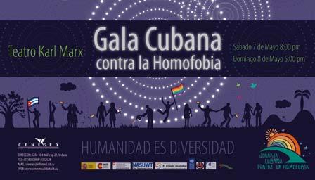 CENESEX - Gala Cubana contra la Homofobia