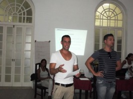 Taller Nacional de Capacitación Sexualidades, Salud sexual y Derechos Humanos. Santiago de Cuba, agosto 2013