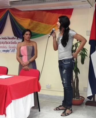 Érika, de Santiago de Cuba