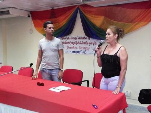 La tunera Marisa, que ocupa un cargo en la Federación de Mujeres Cubanas