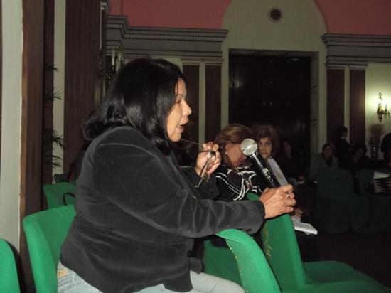 La psiquitra Ada Alfonso, especialista en la temática de violencia contra la mujer