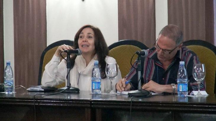 """La directora del CENESEX hizo énfasis en la intersectorialidad del PRONESS, y confesó que """"estamos en un momento de madurez importante""""."""