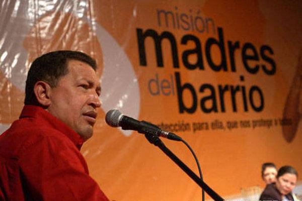 Presidente-Hugo-Chávez-y-la-Misión-Madres-del-Barrio